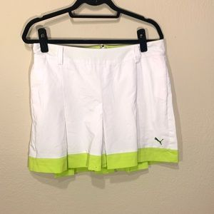 Puma golf tennis skirt skort